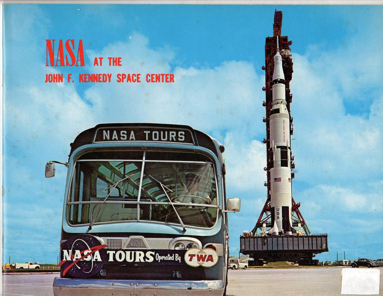 NASA at John F Kennedy Space Center Tour Guide 1976