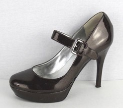 Guess by Marciano Borda women's brown Mary Jane platform stilettos 8.5 M - $18.40