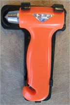 Emergency Life Hammer with Flashlight, Seatbelt cutter and M - $12.95