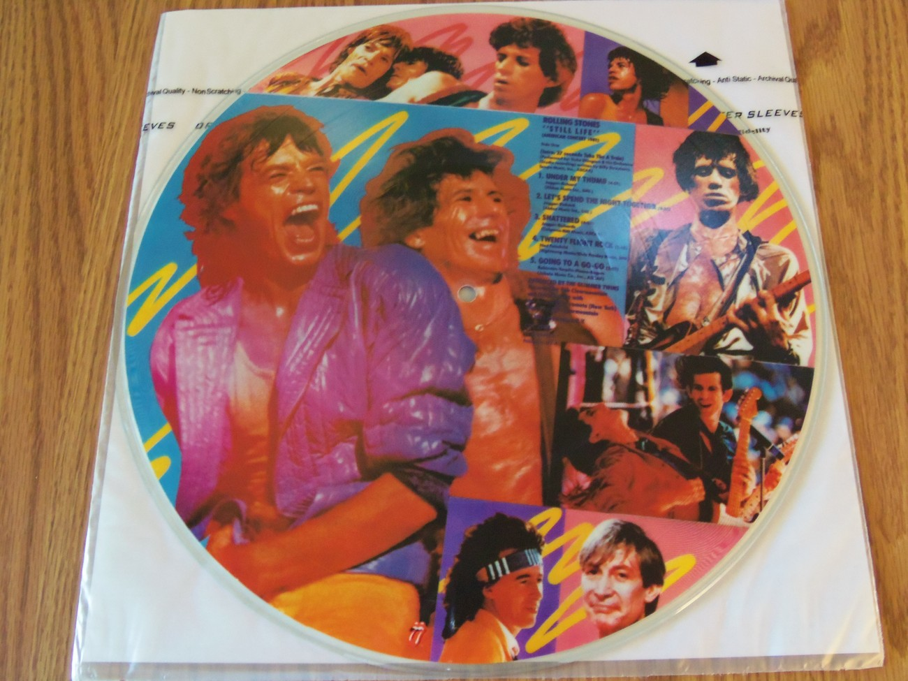 The Rolling Stones Still Life 1981 Picture Disc Limited Edition Gatefold