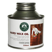 Hard Wax Wood Oil Clear Satin 250mL - Fiddes & Sons - $24.99