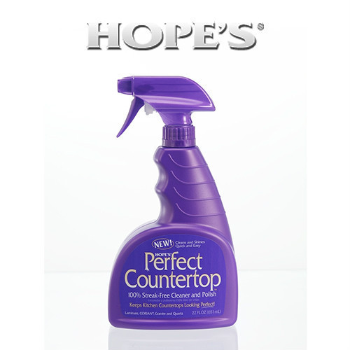 Hope Perfect Countertop Cleaner Polish 22oz. - Cleaning Products