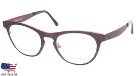 NEW PRODESIGN DENMARK 4383 c.4921 RED EYEGLASSES FRAME 51-21-140 B40mm J... - $98.98