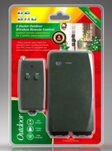 Remote Control Outdoor or Indoor 8 amp Outlet.  Up to 100 ft range.  2 S... - $39.99