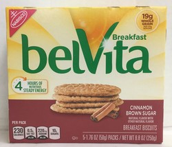 Nabisco Belvita Cinnamon Brown Sugar Breakfast Biscuits 8.8 oz - $5.88