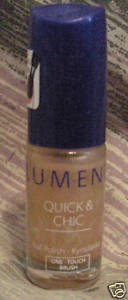 LUMENE QUICK & CHIC NAIL POLISH COLOR 15 OUR LAST SUMMR