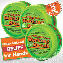 O'Keeffe's working hands skin cream for dry crack&split 3.4 oz. (3 Pack) - $26.52