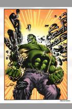 Neal Adams Signed Marvel Comics Art Print ~ The Incredible Hulk / Avengers - $28.70
