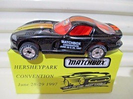 One (1) Matchbox 1997 Promotional HERSHEY TOY SHOW VIPER New Mint in Nu ... - $7.77