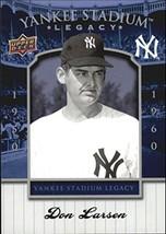 2008 Upper Deck Yankee Stadium Legacy Collection Box Set #34 Don Larsen - $4.95