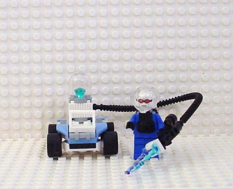 Lego Mr Freeze With Sub Zero Speedster Batman 7884 7783 ...