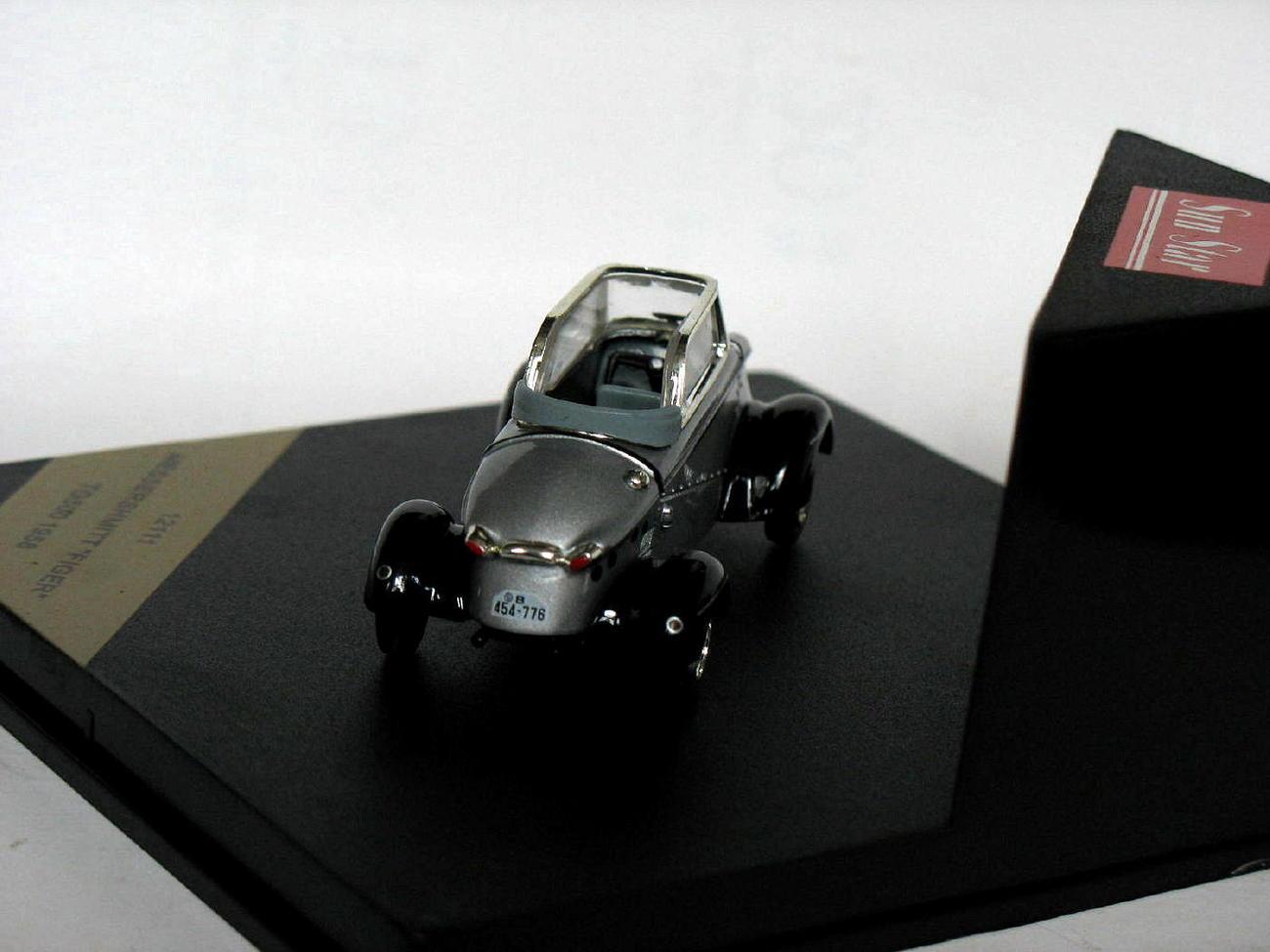 Messershmitt Figer TG500 1958 silver 1/43 die cast model car (Rare)