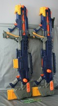 2 Nerf N Strike Hasbro Long Shot CS-6 Toy Tag Game C086B With Clips 2006 - $64.34