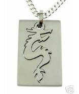 Surgical Steel Jewelry Pendant Dragon Tail NEW LOOK! - $11.00