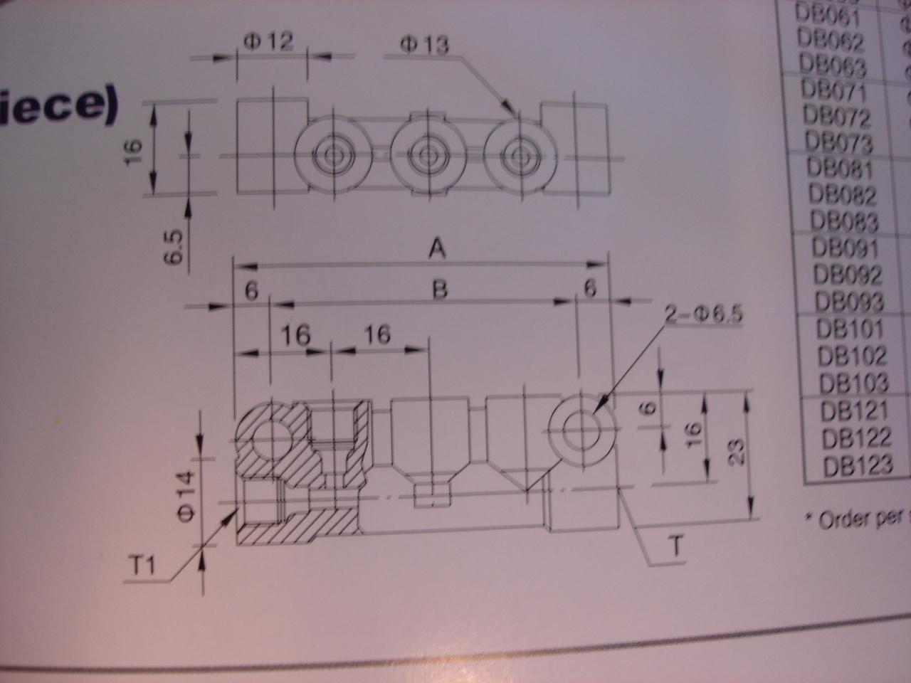 DB Oil Distributor A-4