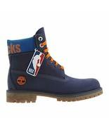 """Timberland New York Knicks 6"""" Premium Waterproof Boot Dark Blue Nubuck - $199.99"""