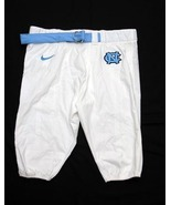 UNC TARHEEL GAME USED FOOTBALL PANTS WHITE S... - $29.00