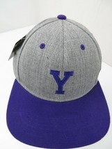 "Letter ""Y"" Grey Purple Snapback Adult Cap Hat New - $12.86"