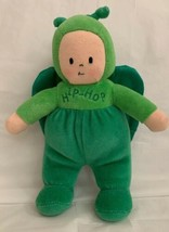 BABY GUND HIP HOP BUGGY BOPS Grasshopper 5798 STUFFED PLUSH DOLL SATIN W... - $19.79