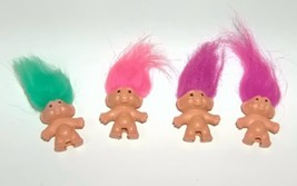 Mini Pencil Top Trolls Set of Four - $12.00