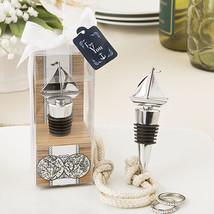 1 Sail Boat Ship Wine Bottle Stopper Wedding Favor Beach Theme Nautical ... - $6.98