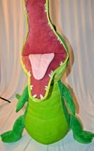 Peter Pan Crocodile toy  Tic Toc Crock Disney Store  30-inch  Plush w/ S... - $99.00