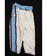 UNC TARHEEL GAME USED FOOTBALL PANTS WHITE Size 26 - $27.00