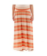 by&by Striped Maxi Skirt Plus Size 2X Msrp New - $21.07