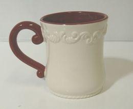 Bella Casa by Ganz Christmas Teapot mug Set White Dark Red image 7