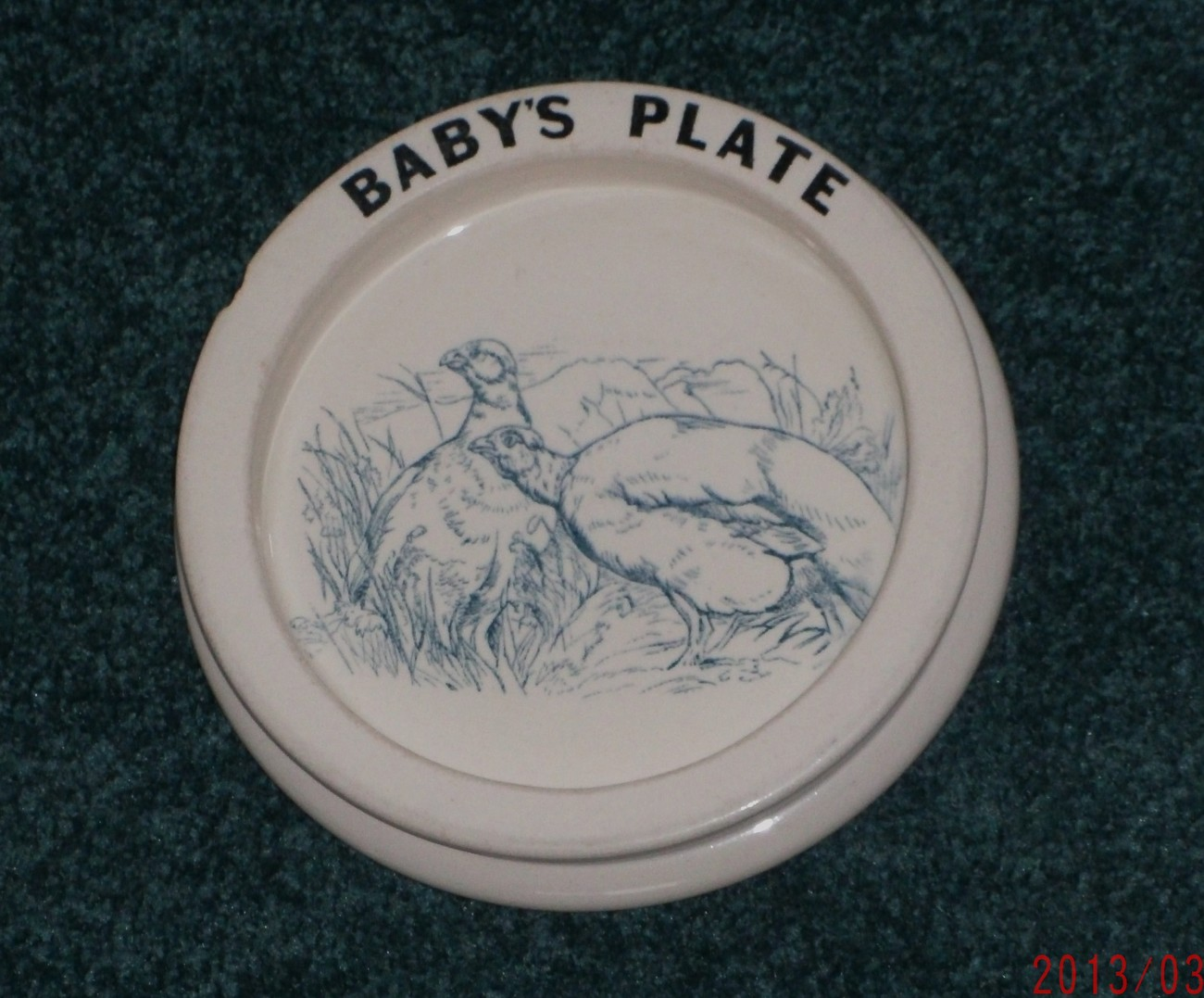 Baby s plate 001