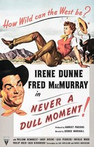 Never A Dull Moment! - 1950 - Movie Poster - $9.99+