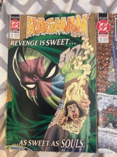 DC Ragman 2 & 4 Lot of 2 Comic Books 91-92 Vintage image 2
