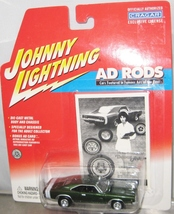 1968 Dodge Charger Johnny Lightning Ad Rods 1/64 Scale Diecast - $21.37