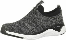 SKECHERS SOLAR FUSE - LITE JOY Women's Athletic Sneakers 13329 BLACK / W... - $40.00