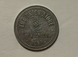 The Union Store Elk Creek Nebraska Fifty Cent in Trade Piece Token Coin - $14.01