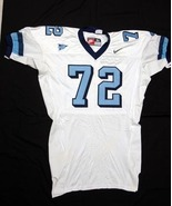 UNC Tarheel GAME USED WORN FOOTBALL JERSEY SIZE... - $39.00