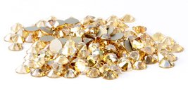 SS16 Swarovski Rhinestones - Crystal Golden Shadow (1 Gross = 144 pieces) - $10.64