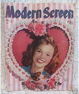 Modern Screen Movie Stars Magazine SHIRLEY TEMPLE ROBERT MITCHUM BUTCH B... - $7.95