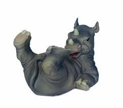 Rhino figurine rhinoceros summit collection Arcadia California resin CA ... - $28.98