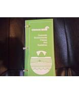 Conrail Memorabilia - Conrail Railroad Corporate Environmental Policies ... - $6.95