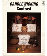 1983 Candlewicking in Contrast Indian Chief, Thunderbird by Faye Clinton... - $15.95