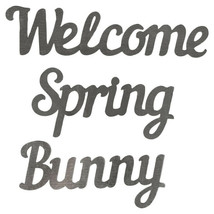 Easter Metal Words, 3-ct. Pack Welcome Spring Bunny w - $5.99