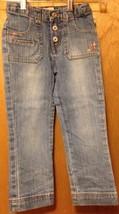 Oshkosh 5 girls jeans waist 20 inseam 16 1/2 has some spandex - $2.95