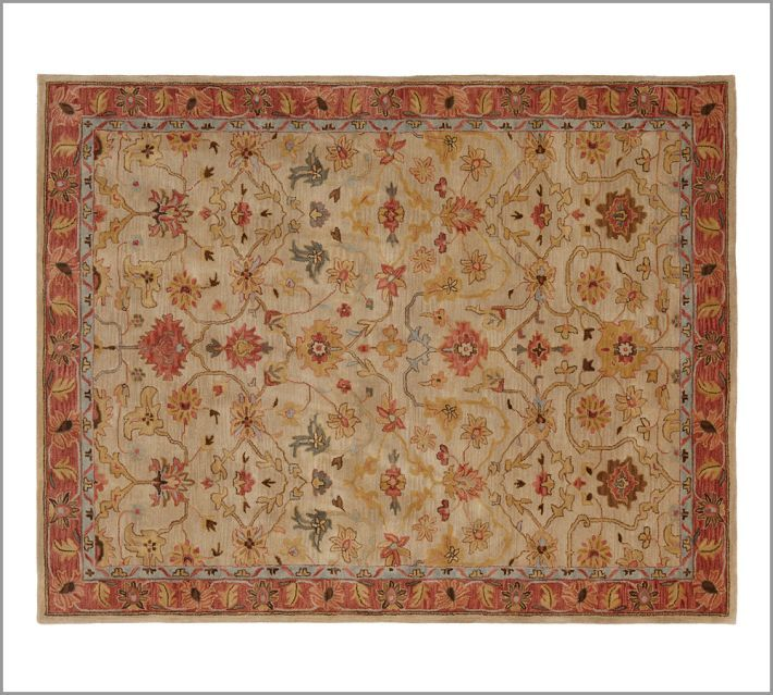 Pottery Barn Persian Style Rugs: Brand New Pottery Barn Handmade ELHAM Persian Style Woolen