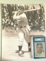 1957 yogi berra baseball card  w/photo...graded sgc 4.5 ex...........ver... - $148.50