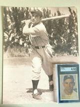 1957 yogi berra baseball card  w/photo...graded sgc 4.5 ex...........very nice - $148.50