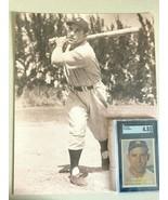 1957 yogi berra baseball card  w/photo...graded sgc 4.5 ex...........ver... - $148.50