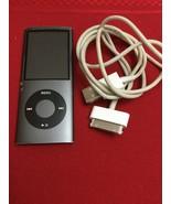 iPod Nano 4th Generation 8GB  Gunmetal grey A1285 - $40.00
