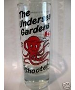 Undersea Gardens Victoria BC. Shot Glass Octopus Souvenir Canada Collect... - $5.99