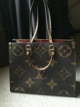 LV ON THE GO Large Tote Shoulder Bag Reverse Giant Monogram - $300.00